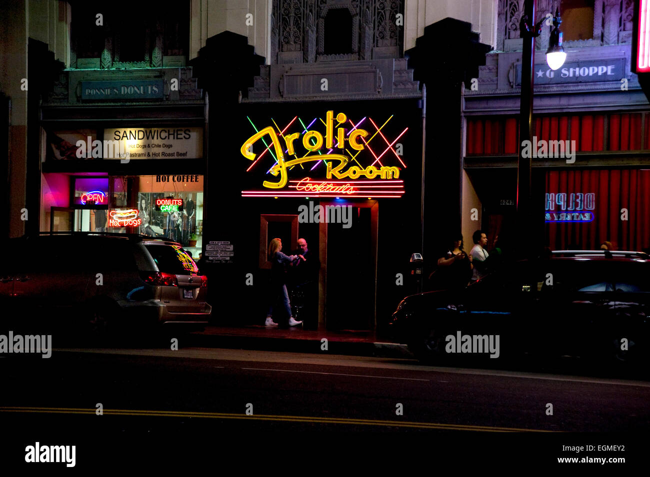 The Frolic Room bar in Hollywood, CA - Stock Image
