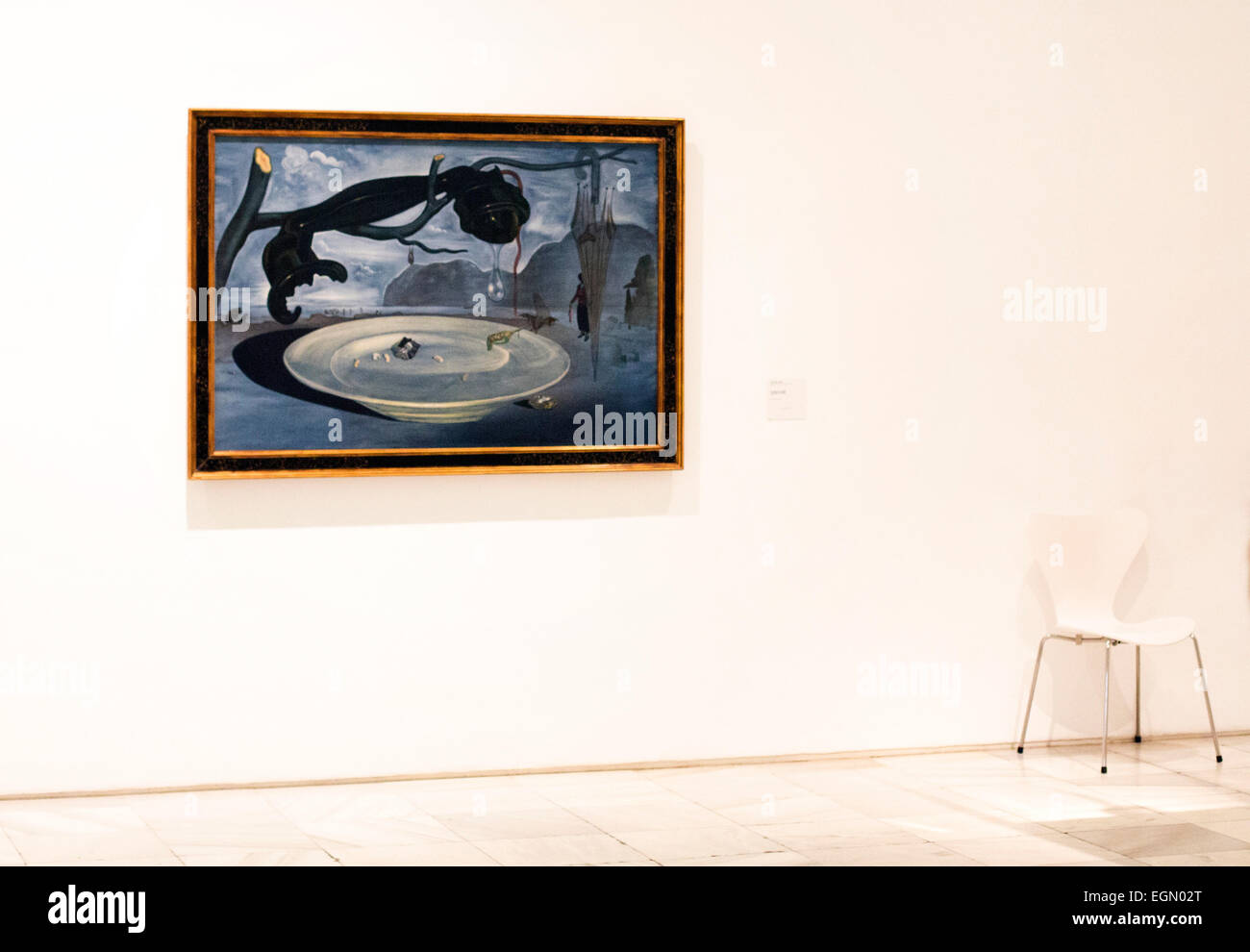 The Enigma of Hitler – Salvador Dali surrealist painting - Stock Image