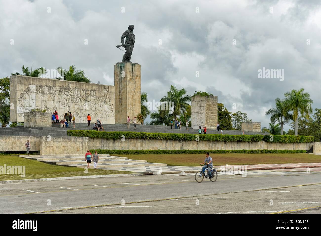 The tribute to Che Guevara at Santa Clara, Cuba. - Stock Image