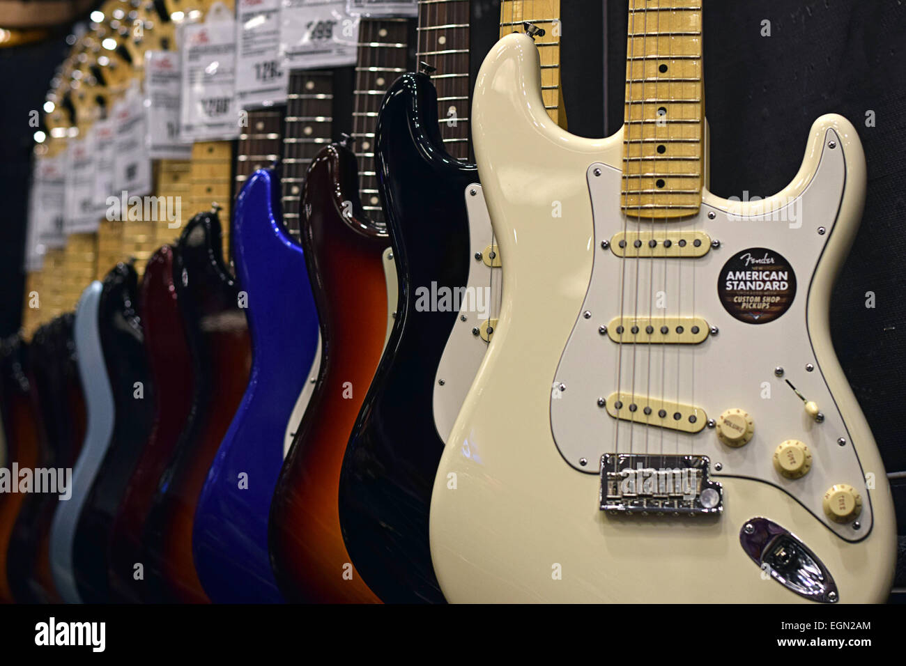 Fender Electric Guitars For Sale At The Guitar Center On West 14th