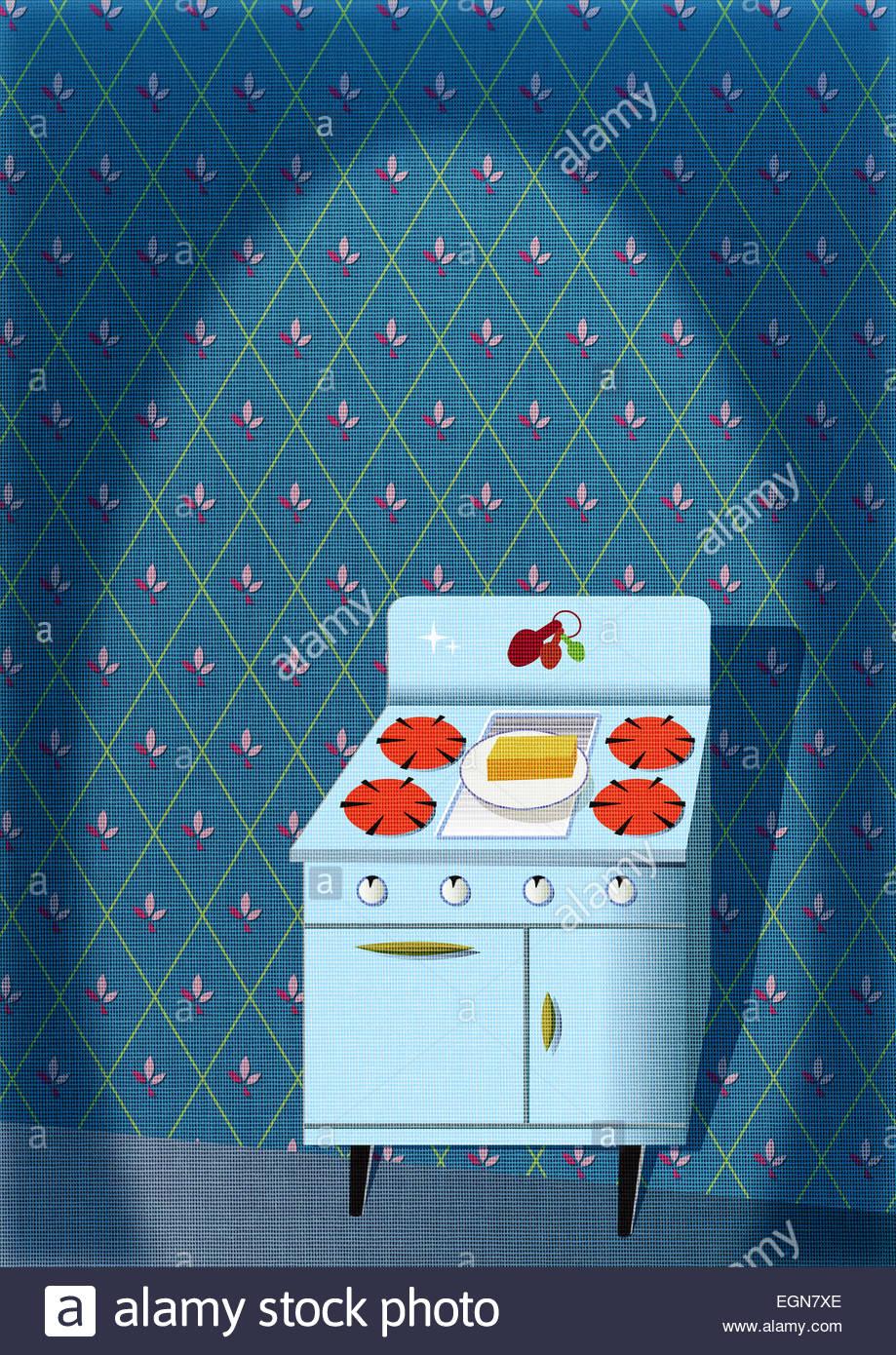 Retro Kitchen 60s Stock Photos & Retro Kitchen 60s Stock Images ...