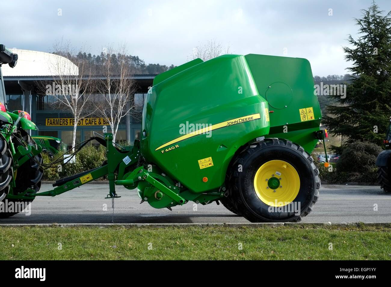 Hay Baler Uk Stock Photos & Hay Baler Uk Stock Images - Alamy