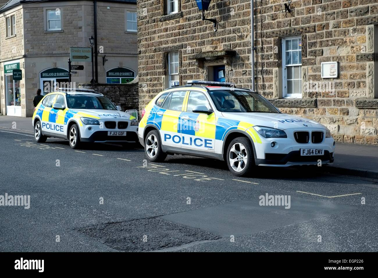 british police cars stock photos & british police cars stock images