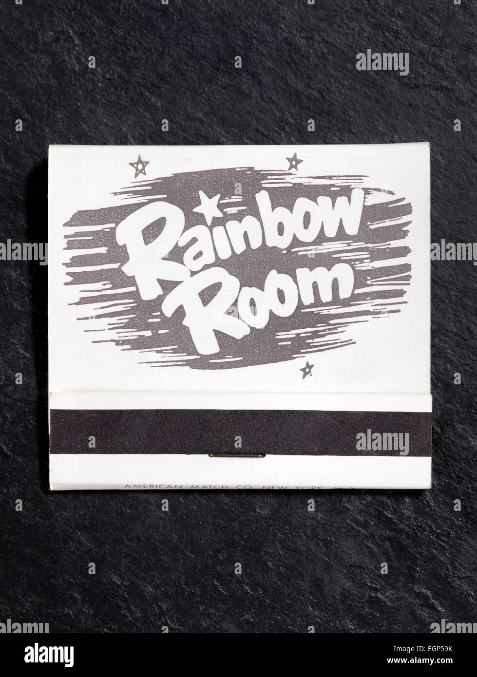 Vintage American Matchbook advertising The Rainbow Room in New York City