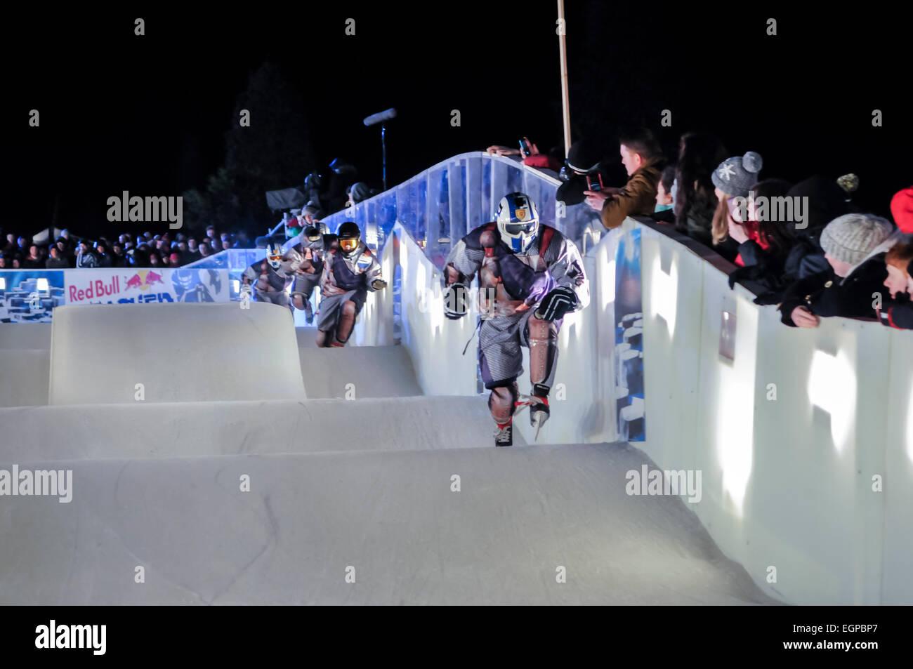 Ice Skating Track Stock Photos & Ice Skating Track Stock
