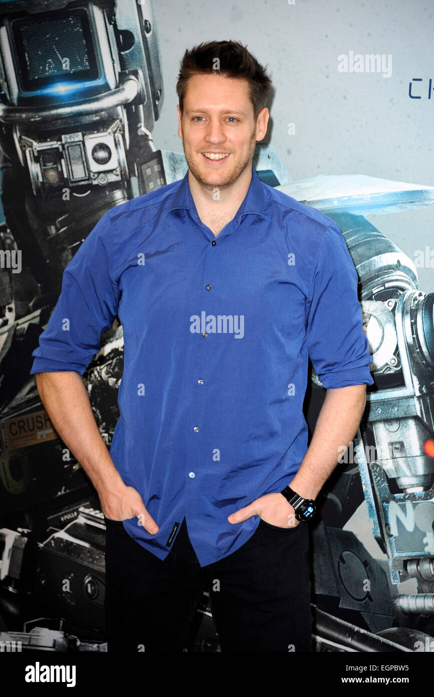 Neill Blomkamp at the Photocall for the film 'Chappie' in