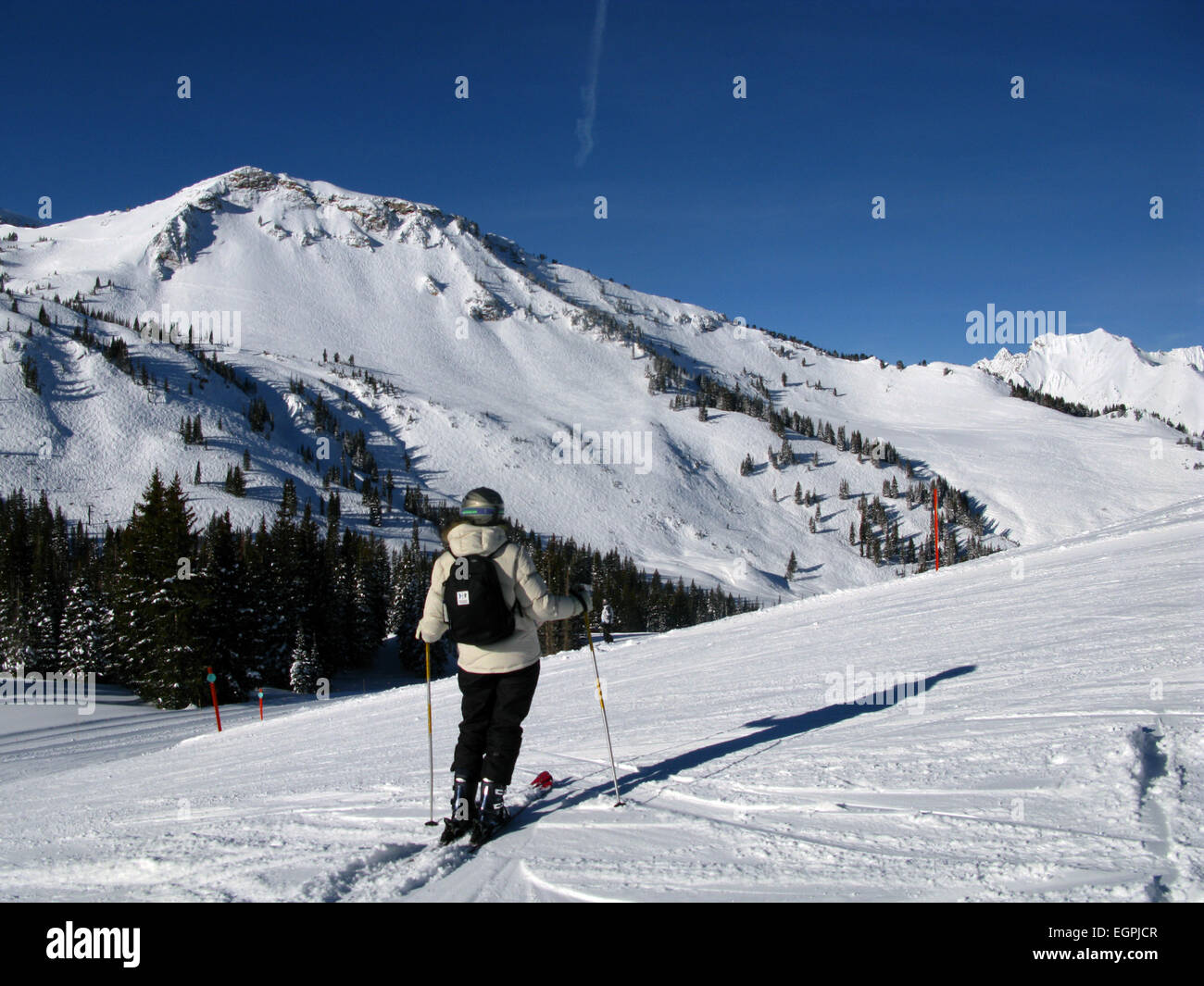 alta ski resort, utah, little cottonwood canyon, wasatch mountain