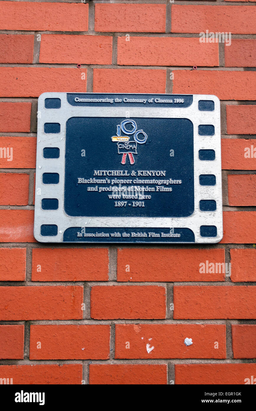 Mitchell and Kenyon Plaque - Stock Image