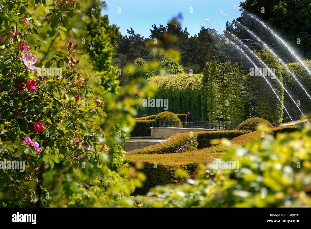 The Alnwick Garden - Stock Image