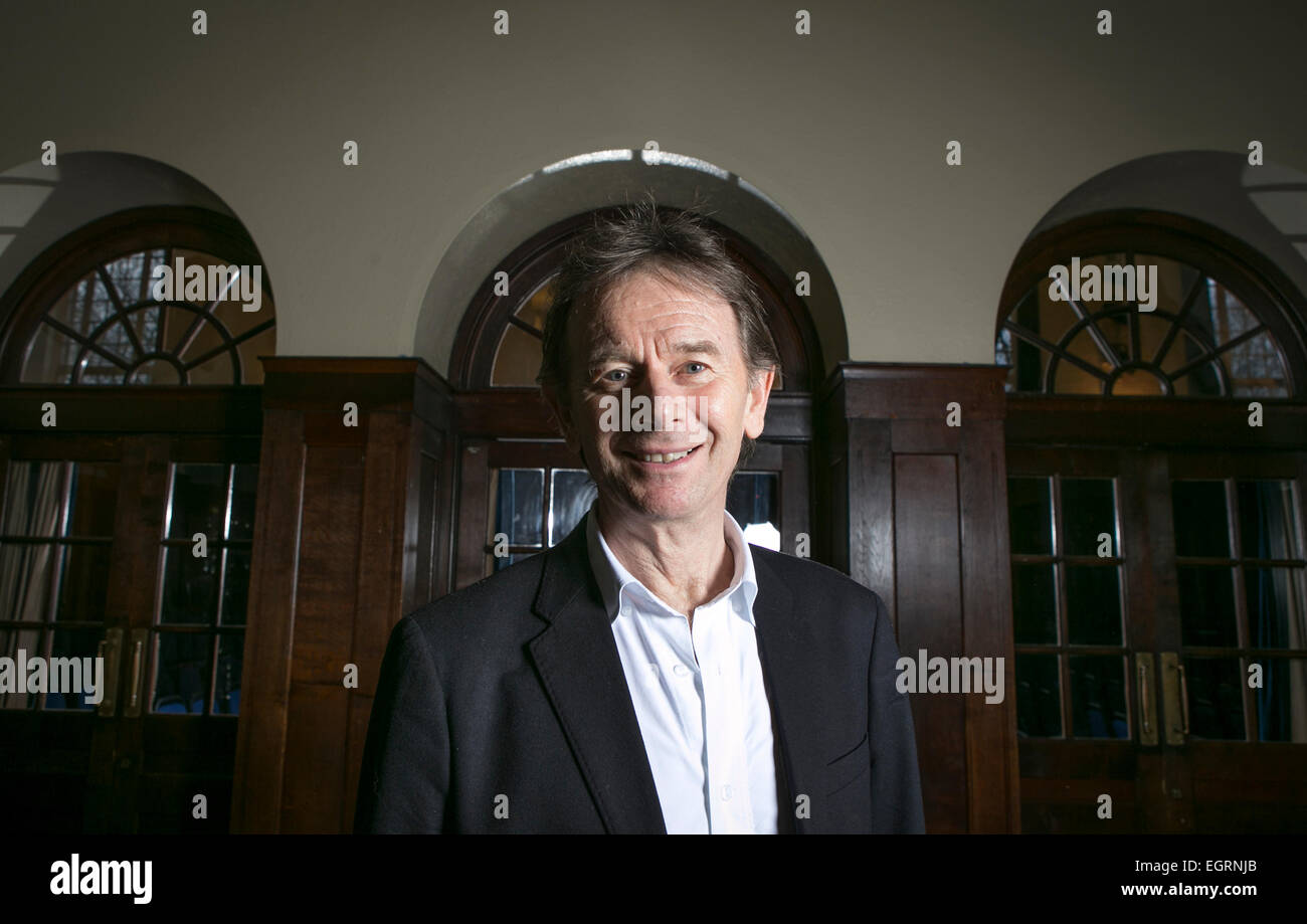 Historian and broadcaster Michael Wood - Stock Image