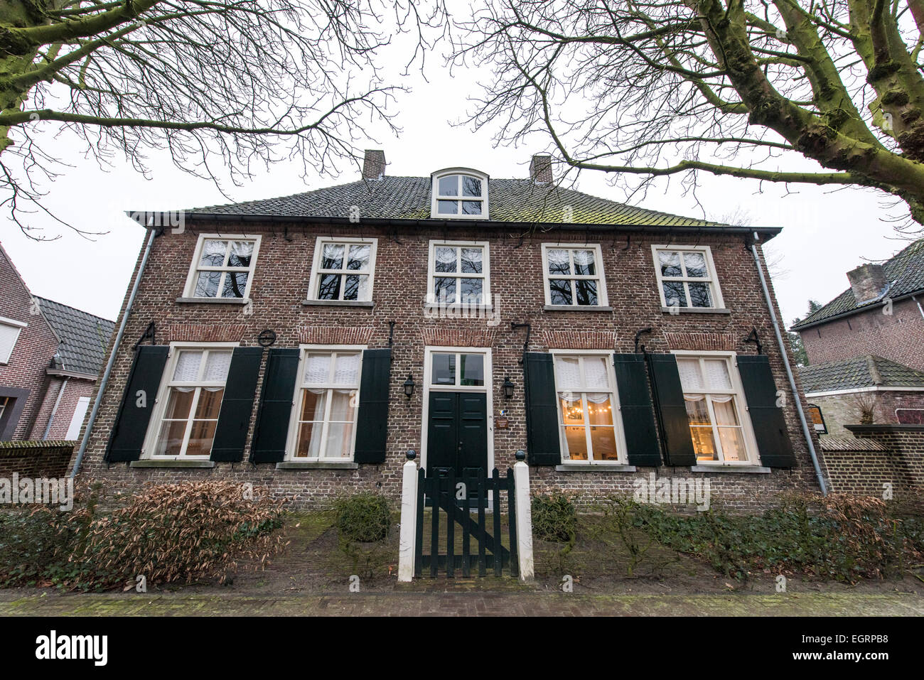 The house where it lived Vincent Van Gogh Nuenen Holland - Stock Image