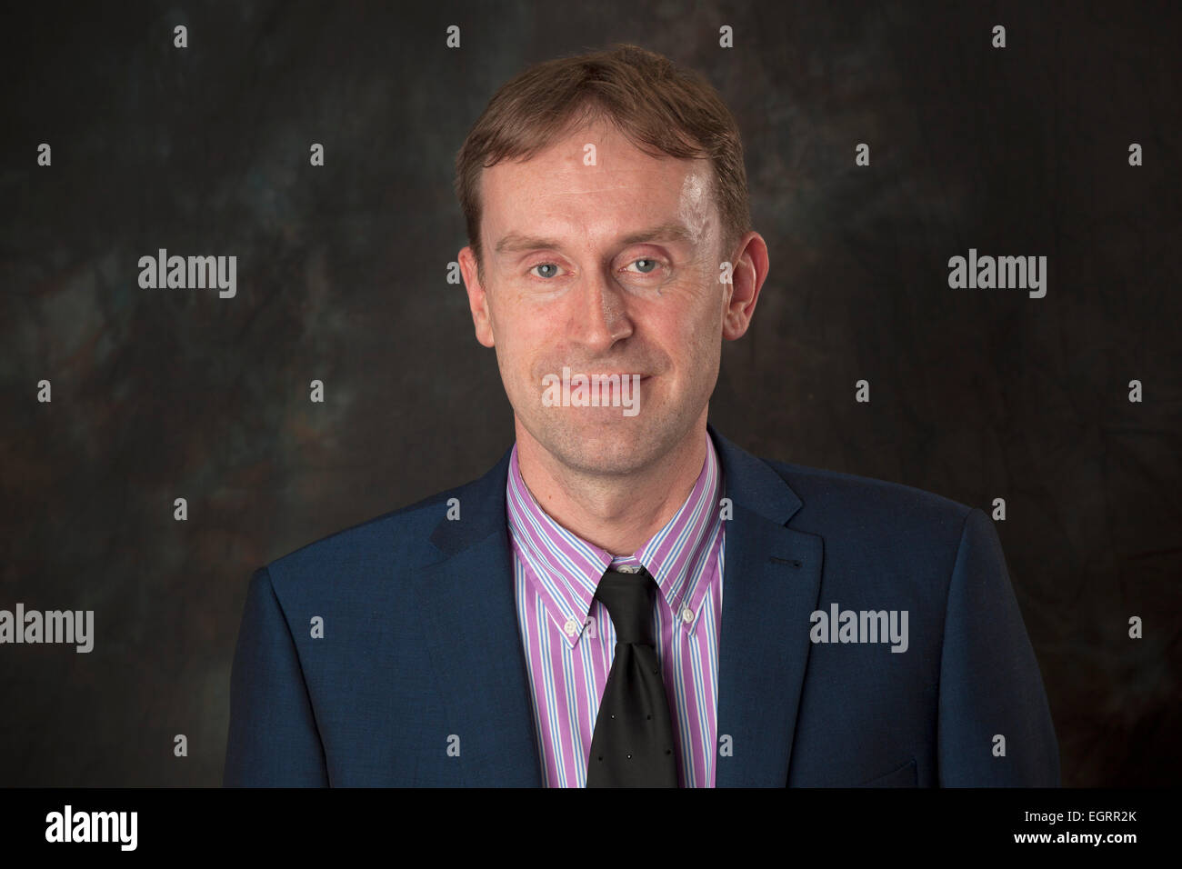 Walsall, West Midlands, UK. 1st March 2015. Chris Perry Director of Programmes at the new Big Centre TV channel. - Stock Image