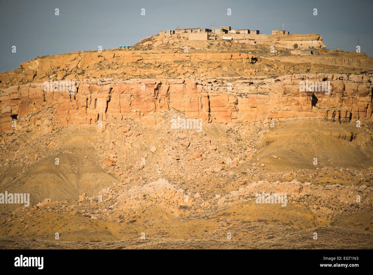 Second mesa; Hopi nation; Arizona; United States - Stock Image