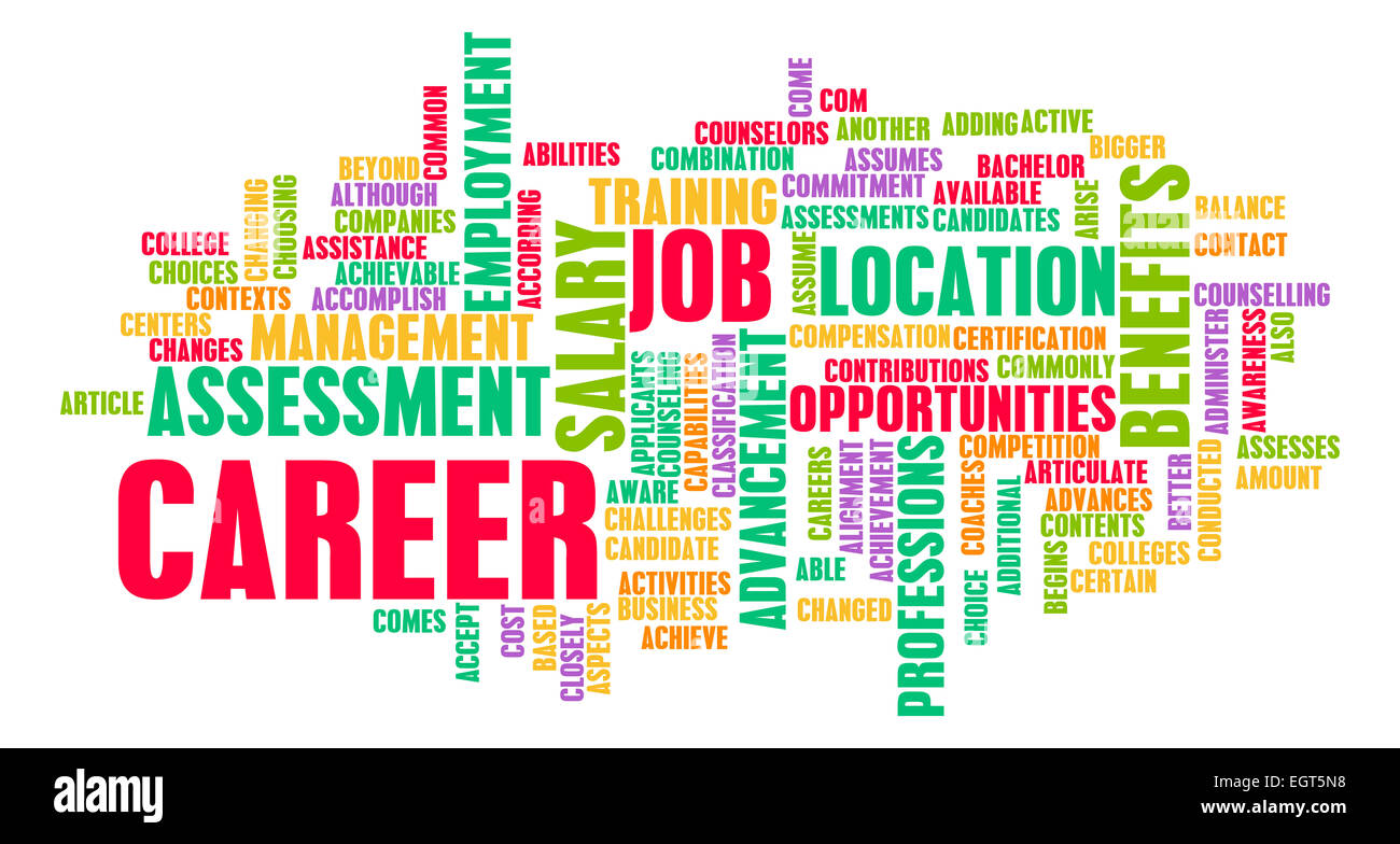 Job Career Search and Business Talent as Concept Stock Photo