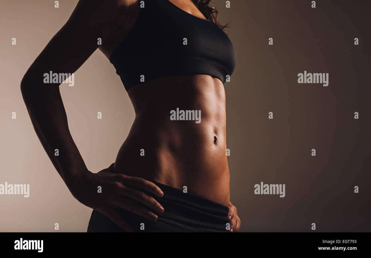 Stomach Muscles Women Stock Photos & Stomach Muscles Women Stock ...