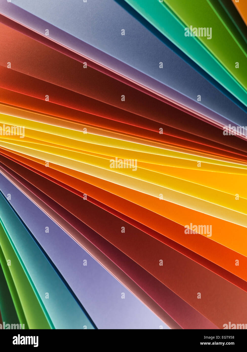 macro image of multi colored paper. abstract background - Stock Image