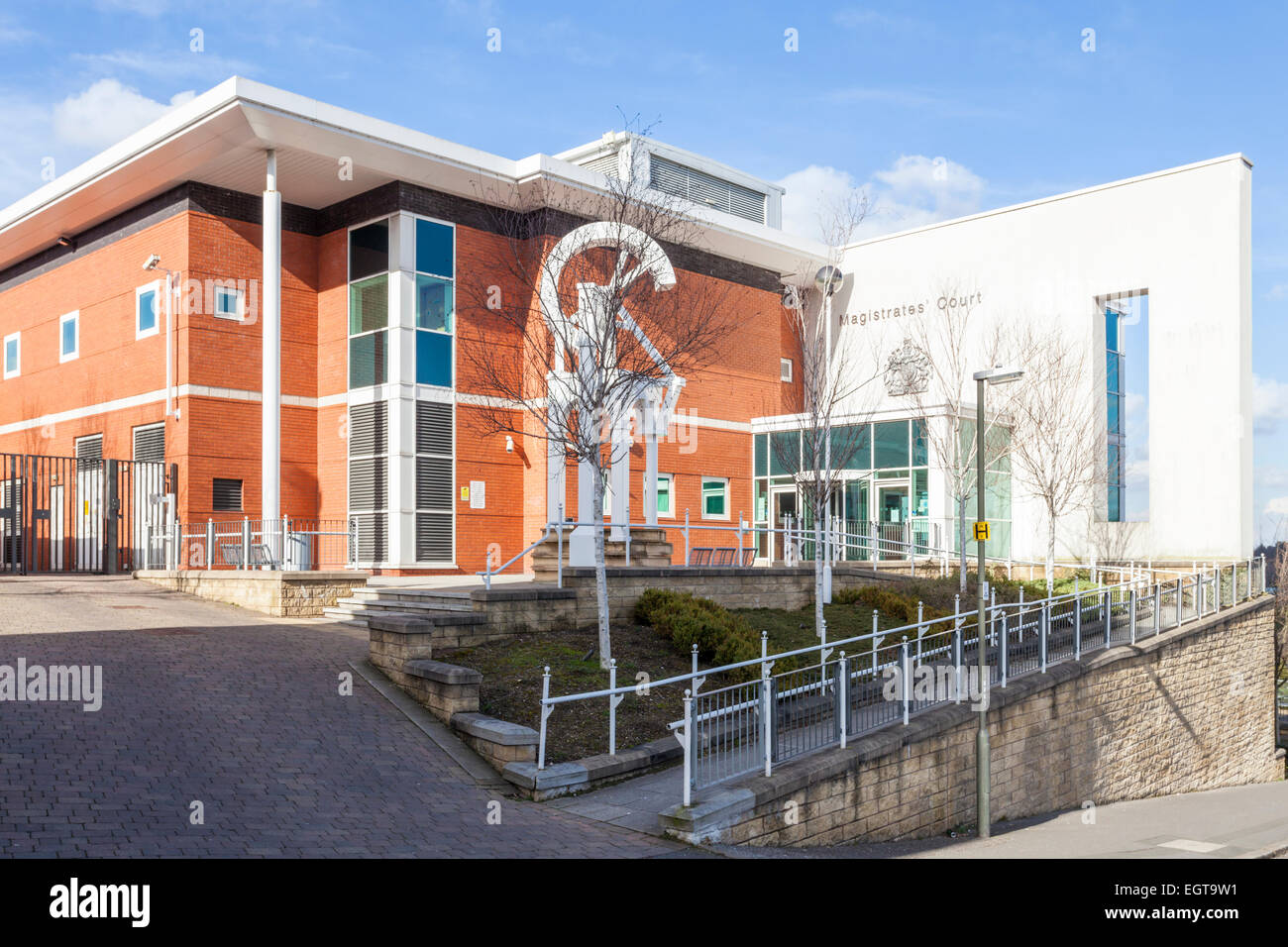 Chesterfield Magistrates' Court, Chesterfield, Derbyshire, England, UK - Stock Image