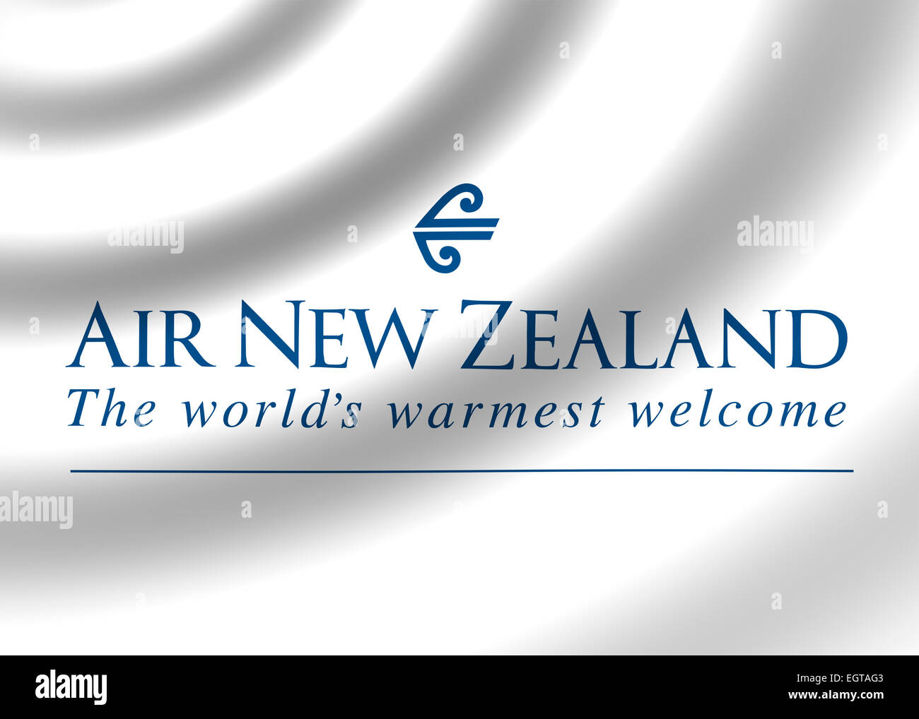 Air New Zealand LTD logo symbol icon flag emblem - Stock Image