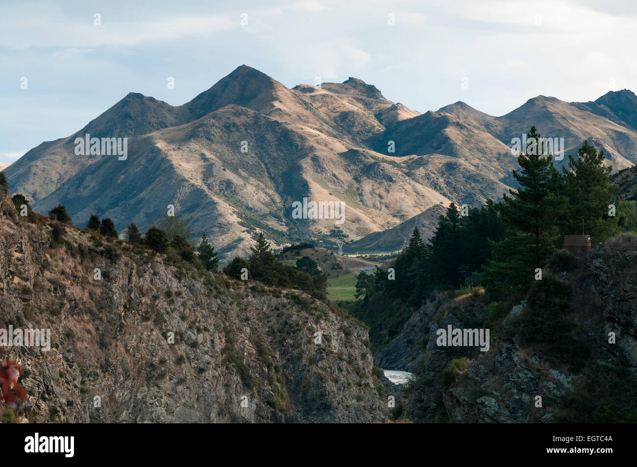 Castle Hill near Hanmer Springs, Canterbury, South Island, New Zealand. - Stock Image