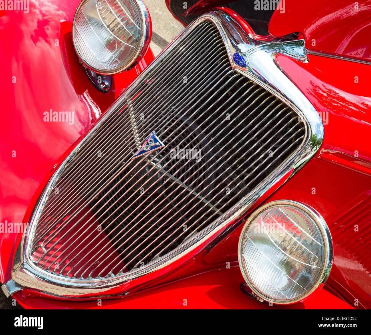 Antique Ford Roadster V8 - Stock Image