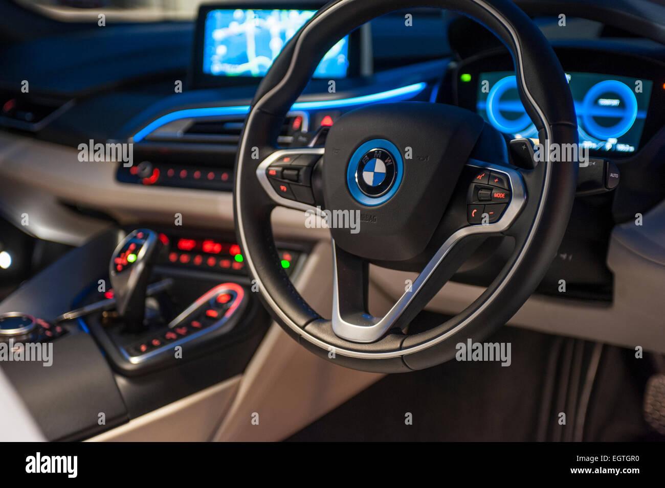 Bmw I8 Electric Car Ev Hybrid Stock Photo 79216004 Alamy