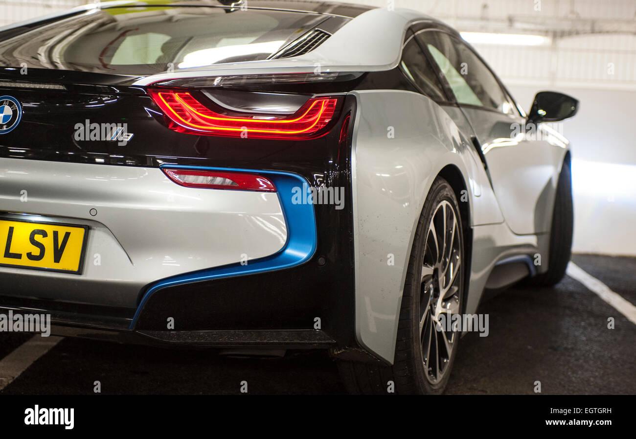 Bmw I8 Electric Car Ev Hybrid Stock Photo 79216021 Alamy