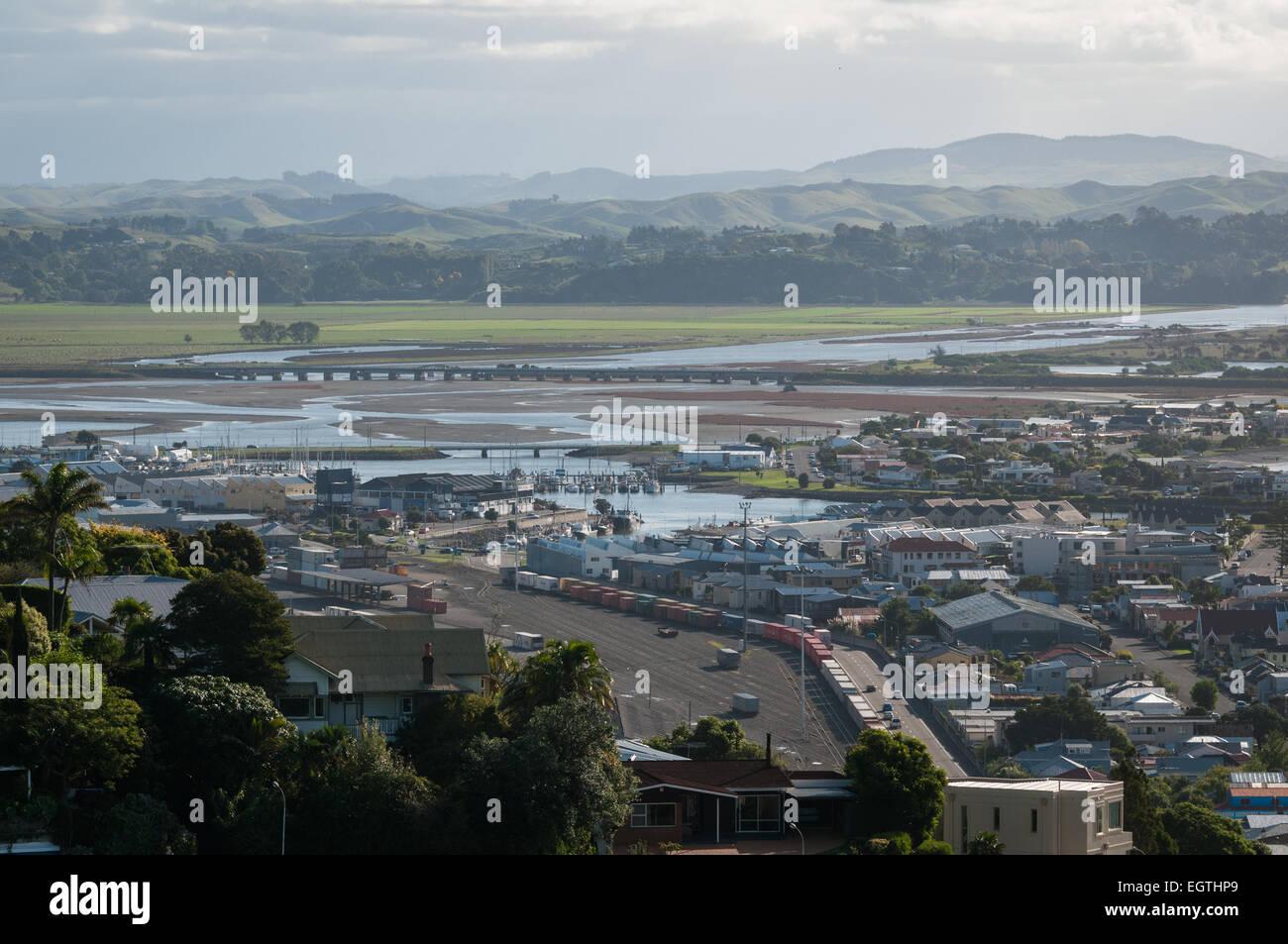 Napier, Hawkes Bay, North Island, New Zealand. - Stock Image