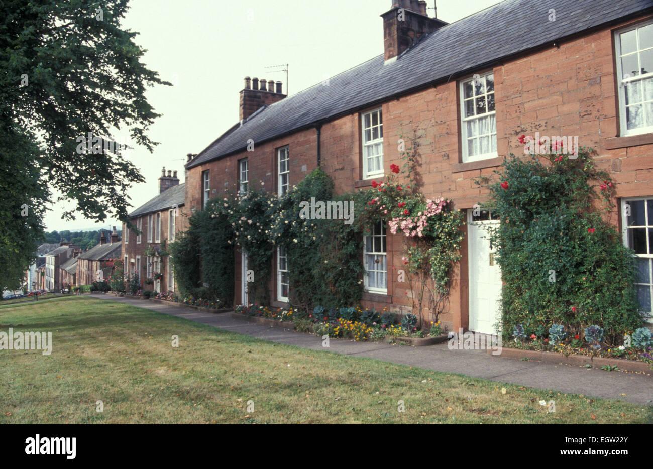 Boroughgate, Appleby - in - Westmorland Cubmbria England UK - Stock Image