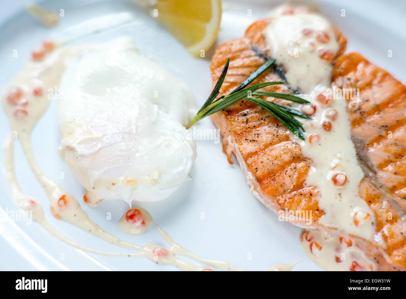Reastaurant sea food - Stock Image