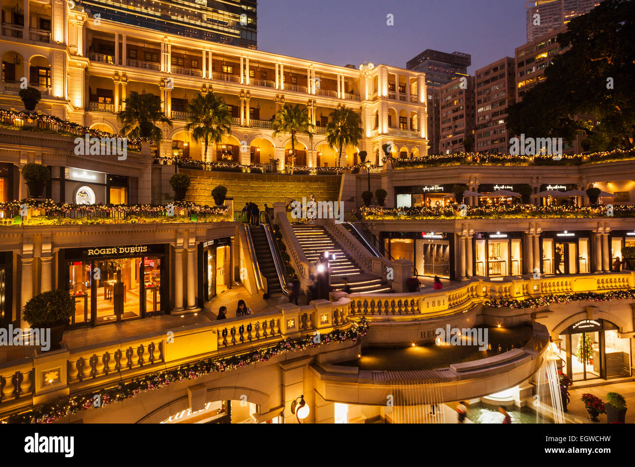 China, Hong Kong, Kowloon, Tsim Sha Tsui, 1881 Heritage Hotel and Shopping  Centre