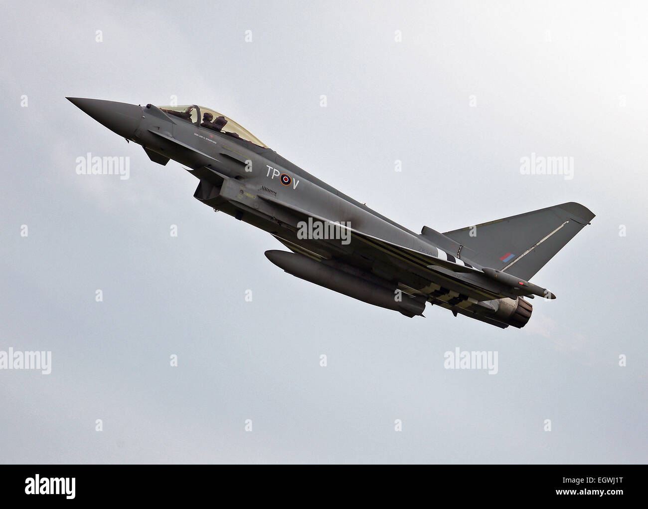 RAF FGR4 Eurofighter Typhoon D-Day Special Markings - Stock Image