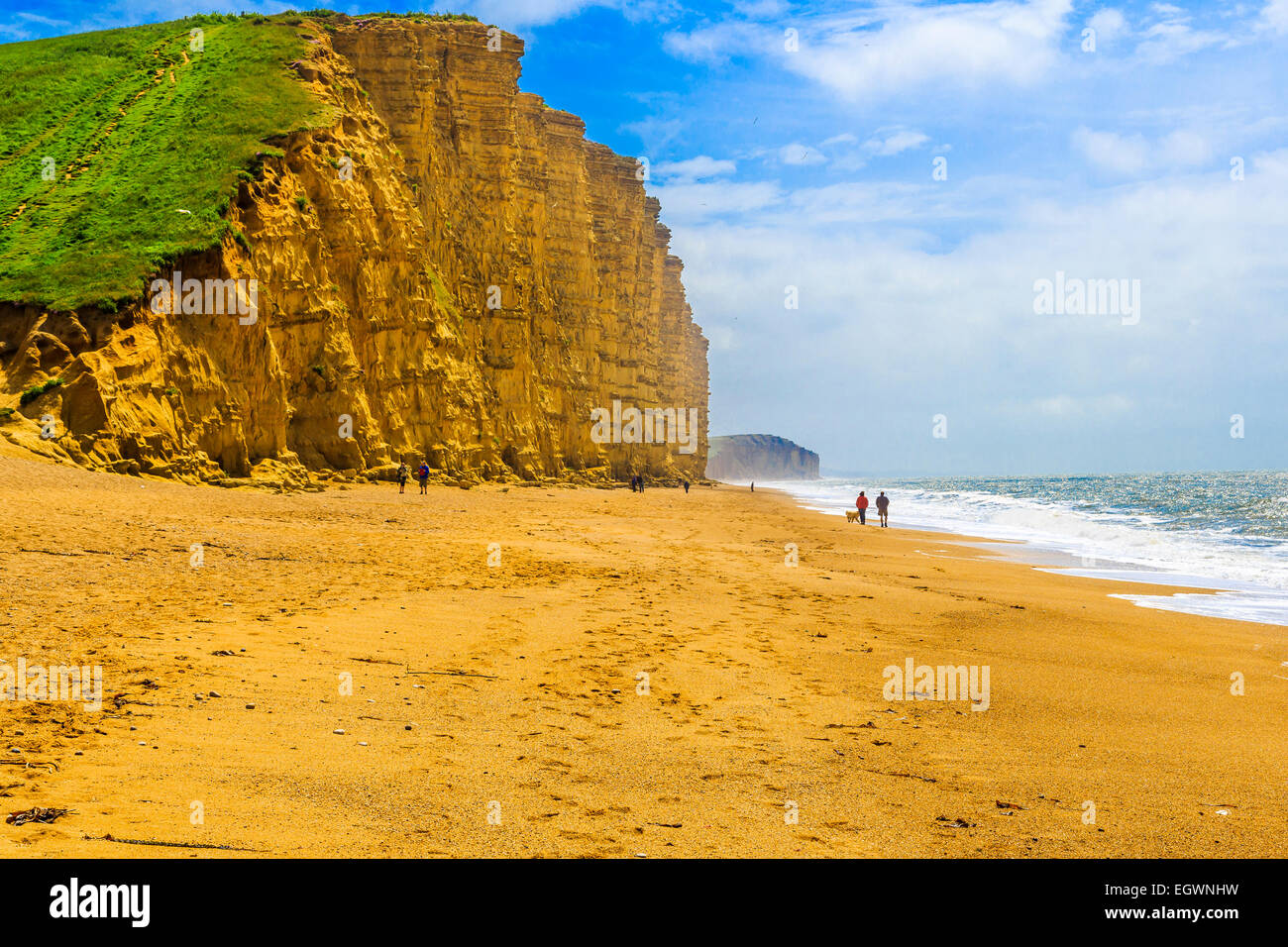 west bay dorset the beach location used for the filming. Black Bedroom Furniture Sets. Home Design Ideas