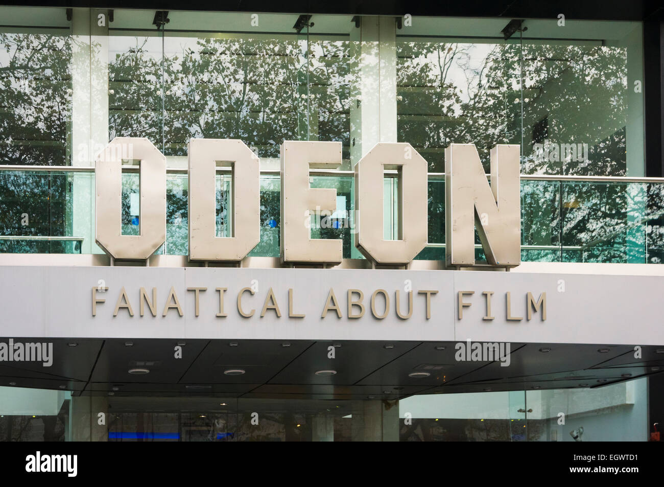 Odeon cinema in Leicester Square, London, UK - Stock Image