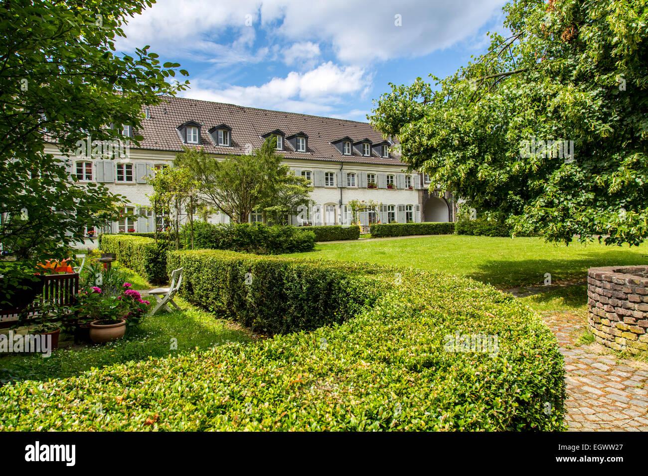 Buildings of Saarn monastery in Mülheim, Germany Stock Photo