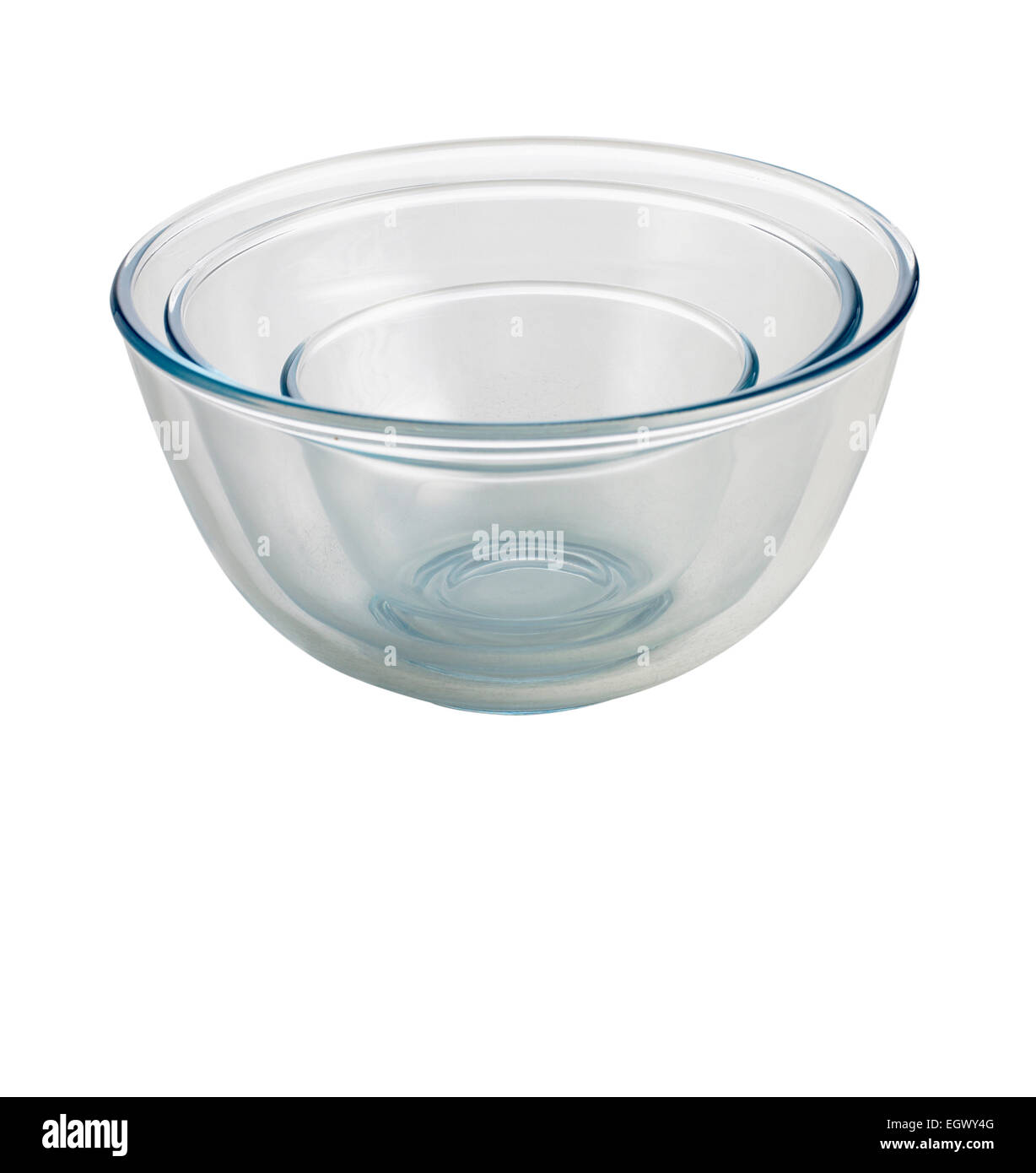 glass bowls - Stock Image