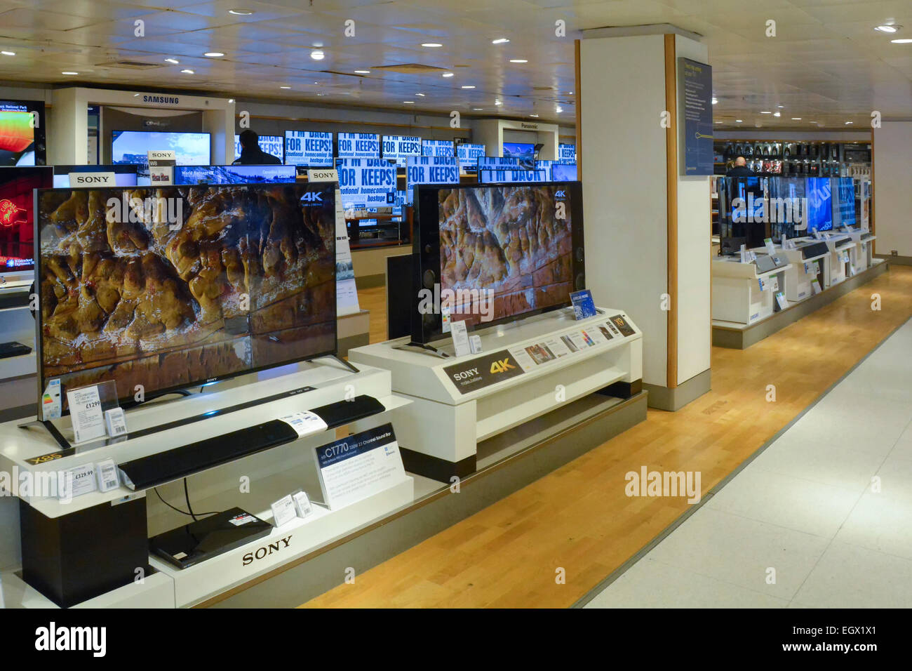 tvs store stock photos tvs store stock images alamy. Black Bedroom Furniture Sets. Home Design Ideas