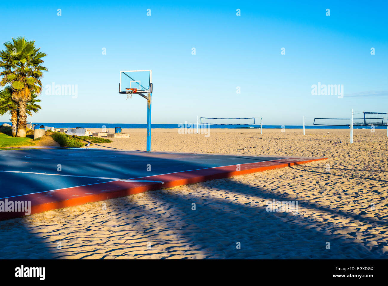 South Mission Beach Basketball Court