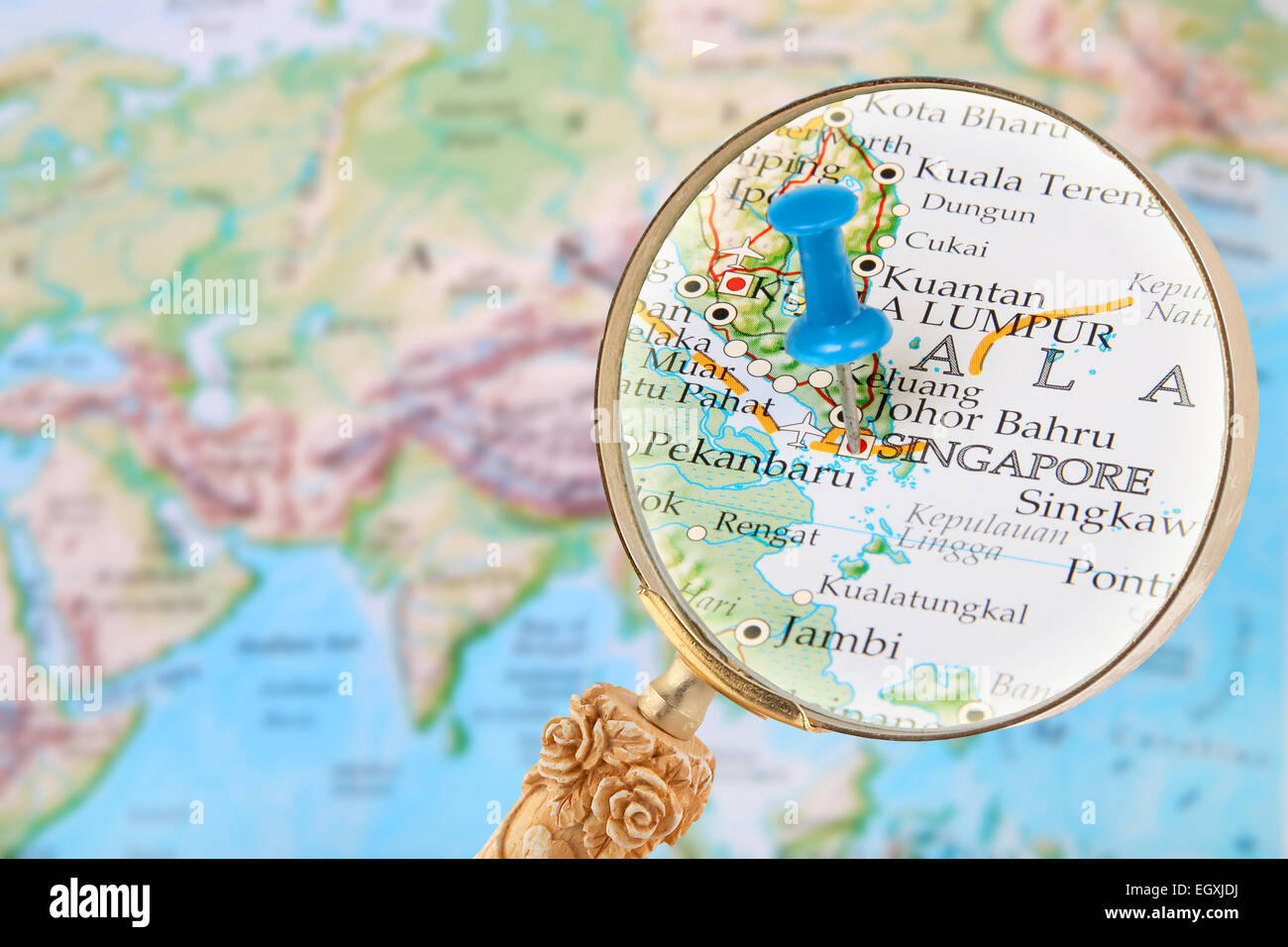 Map Of Asia Singapore.Singapore City Map Asia Stock Photos Singapore City Map Asia Stock