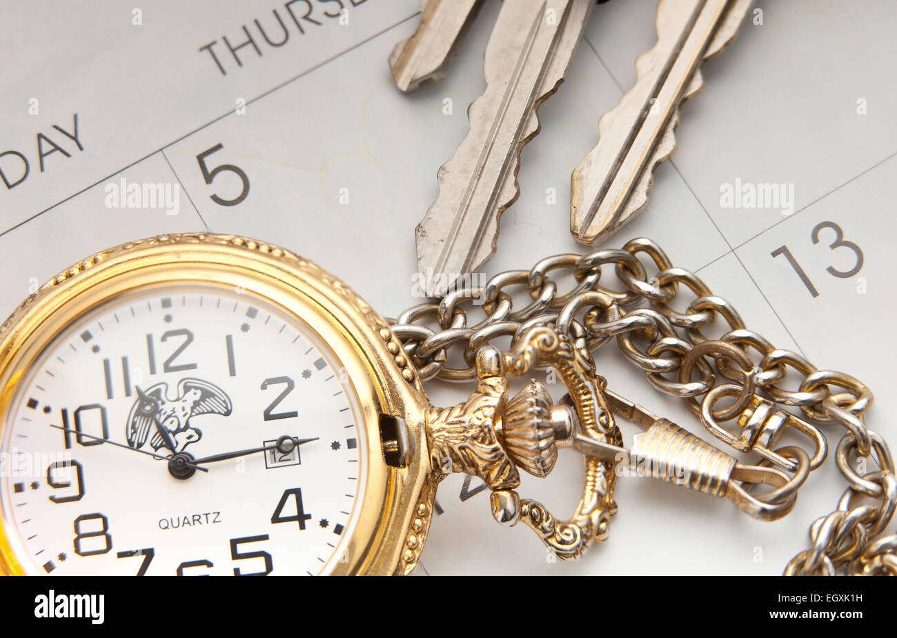 Concept image of scheduling. - Stock Image