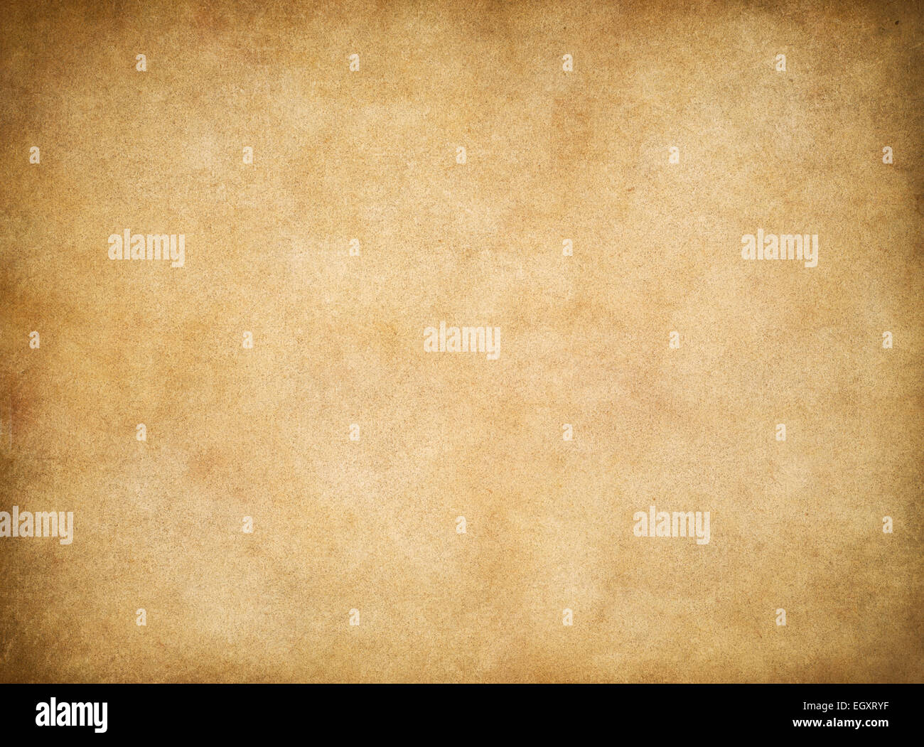 Vintage aged worn paper texture background - Stock Image