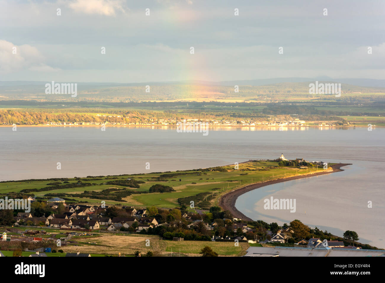 Chanonry Point, Fortrose, Black Isle, Ross shire, Scotland, United Kingdom - Stock Image