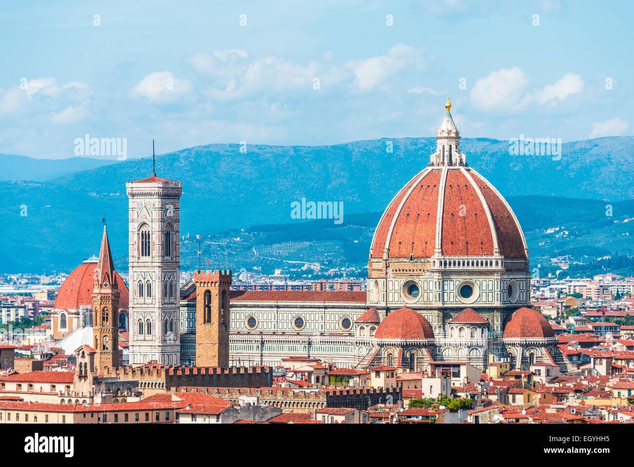 Florence Dome: Brunelleschi Dome Florence Stock Photos & Brunelleschi