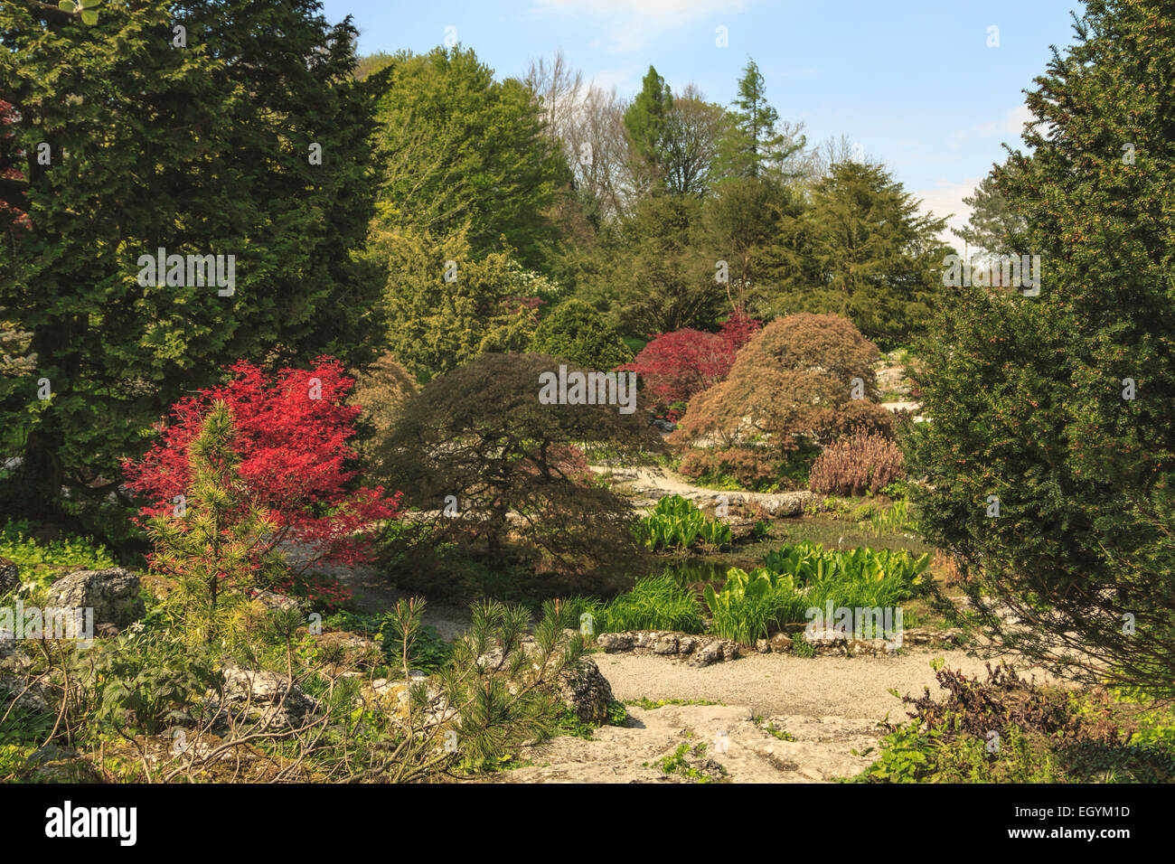 Sizergh Castle And Garden Stock Photos & Sizergh Castle And Garden ...