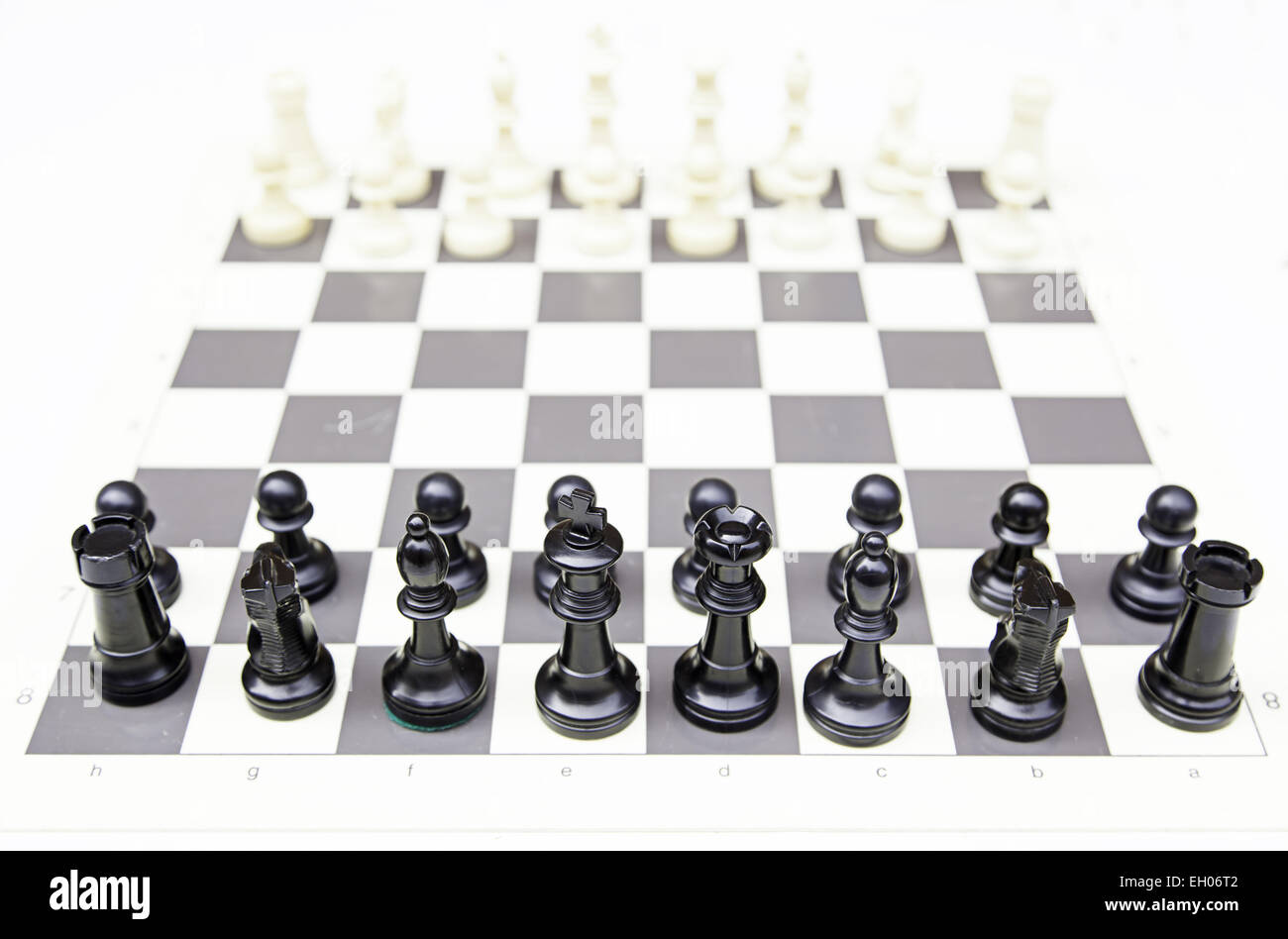 Chessboards, detailed intelligence game - Stock Image