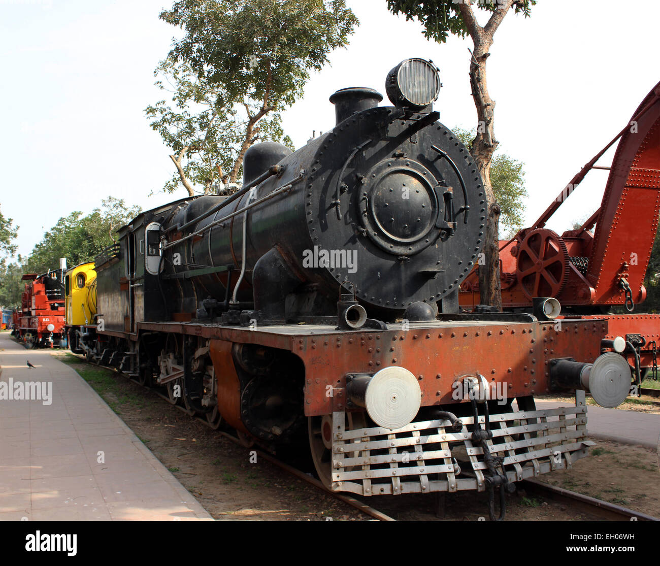 Train, Indian, India, old, vintage, iron, depot, engine, excursion