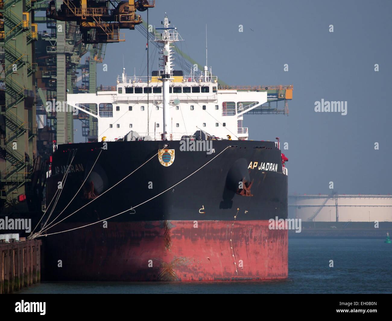 AP Jadran - IMO 9511246, Mississippihaven, Port of Rotterdam pic4 - Stock Image