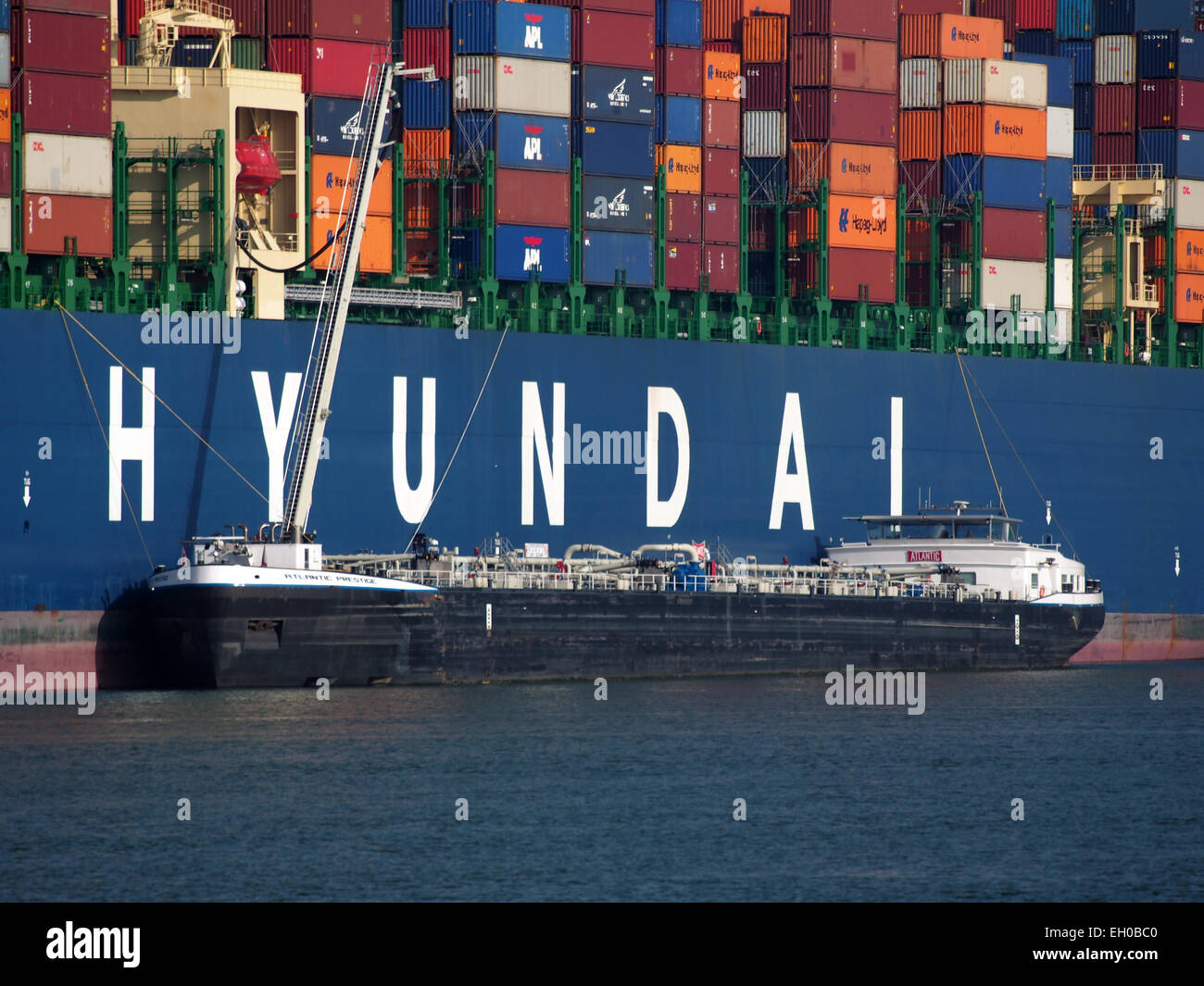 Atlantic Prestige ENI 02333489, Amazonehaven, Port of Rotterdam, pic2 - Stock Image