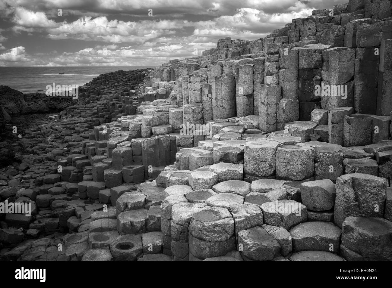 Giants Causeway. Ireland - Stock Image