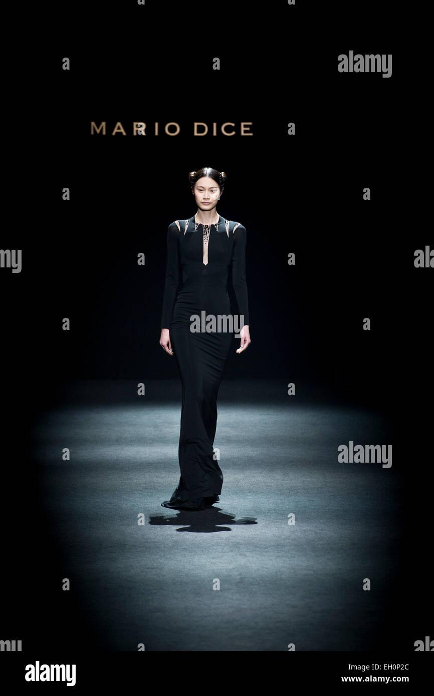 Milan, Fashion week, Mario Dice Stock Photo