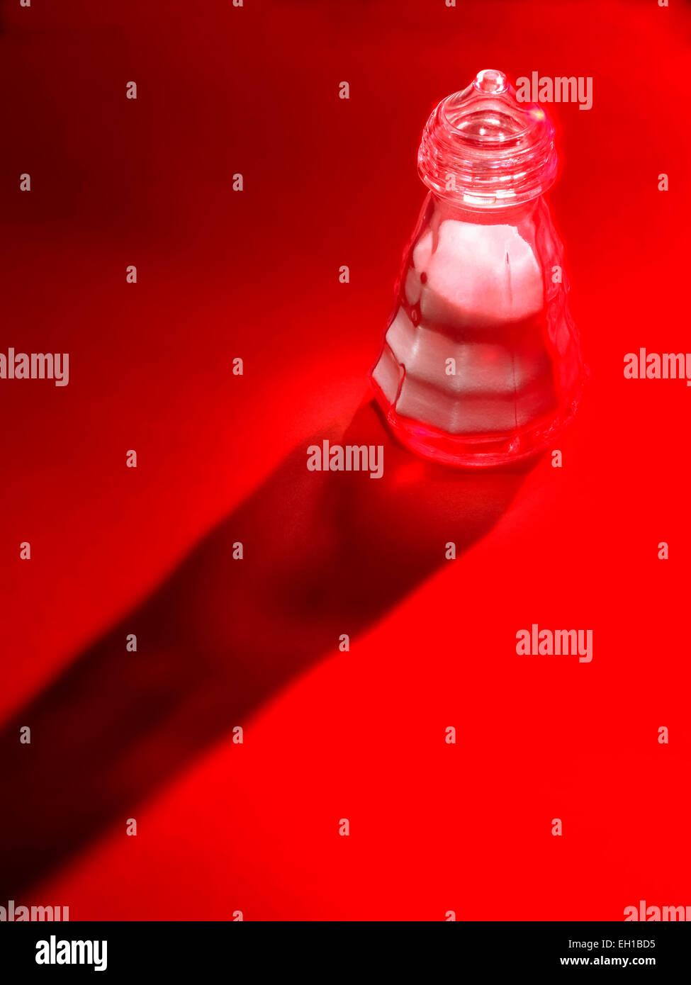 salt cellar - Stock Image